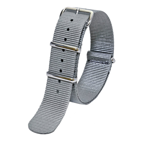 Sutter & Stockton - Military Watch Strap - Grey