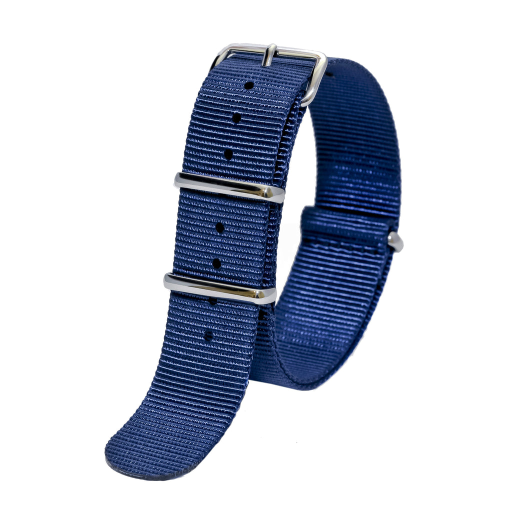 nato watch strap navy sutter & stockton