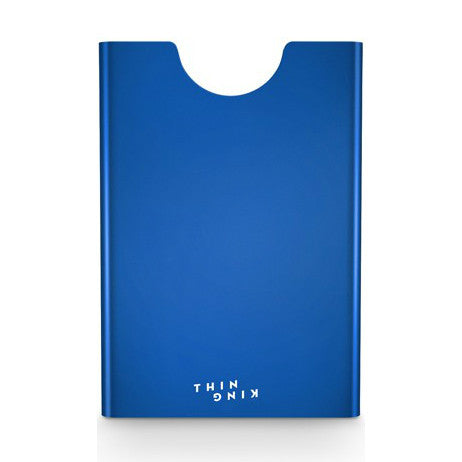 Thin King Aluminum Card Case - Blue