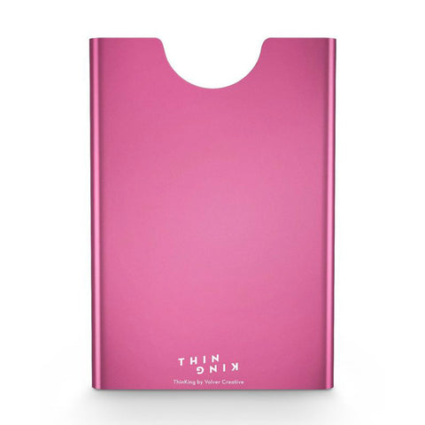 Thin King Aluminum Card Case - Pink
