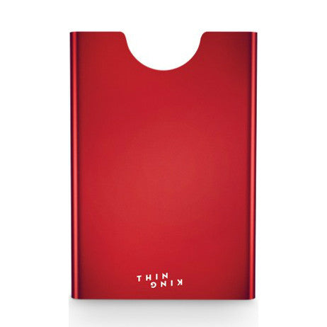 Thin King Aluminum Card Case - Red