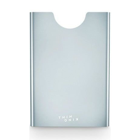 Thin King Aluminum Card Case - Silver