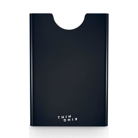 Thin King Aluminum Card Case - Black