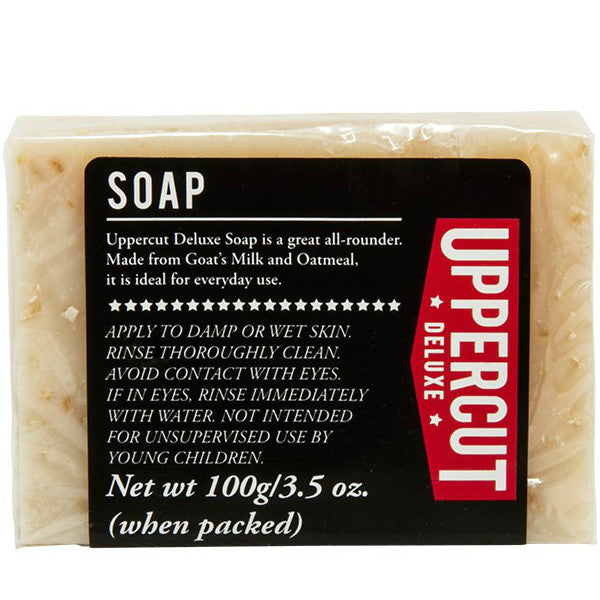 Uppercut Deluxe Goat Milk & Oatmeal Soap