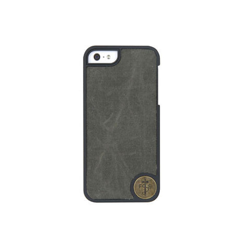 The Waxed Canvas Case for iPhone 5 - Green
