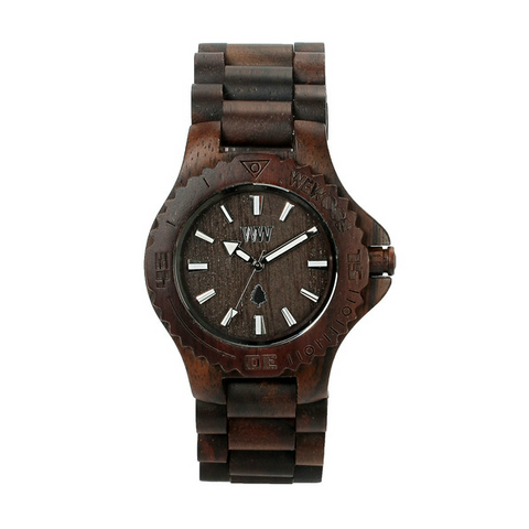 WeWood Date Watch - Chocolate
