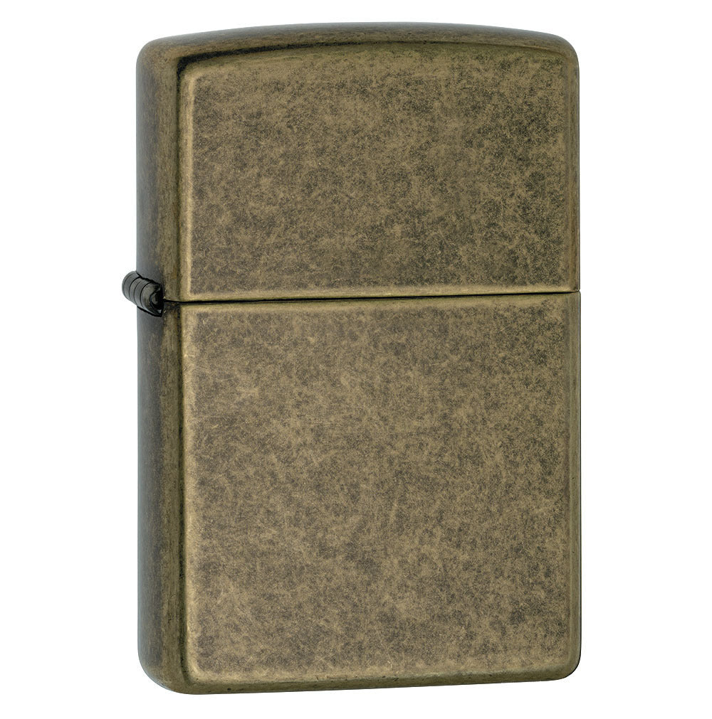 Zippo Antique Brass Lighter
