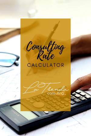 Consulting Rate Calculator + Course