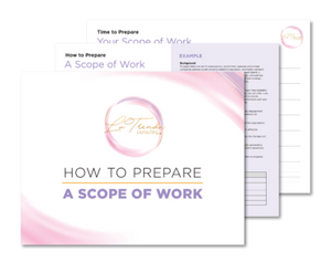 How to Prepare A Scope of Work Template