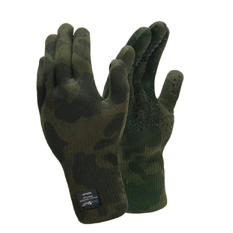 Waterproof Camouflage Gloves