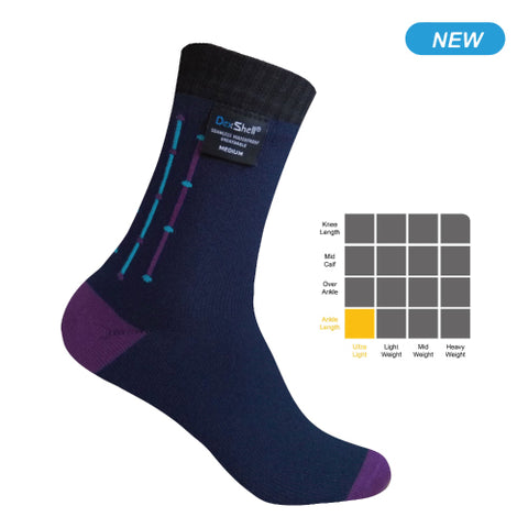 Waterproof Ultra Flex Socks Navy