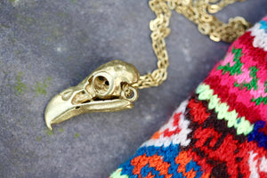 Parrot Skull Necklace