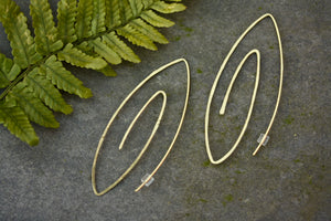 Spiral Geometric Earrings
