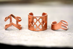 Boho rings - Copper