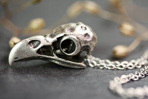 Parrot Bird Skull Necklace