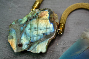Huge Labradorite nekclace