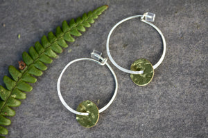 Sterling Silver Hoop Delicate Earrings Small