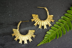 Sun boho Earrings