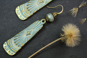Patina Large Earrings