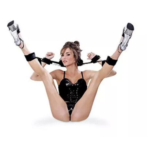 Neck Tie Leg Restraints and Cuffs