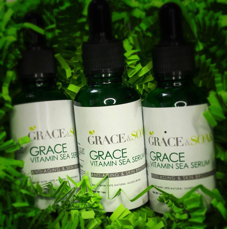 Grace Vitamin Sea Anti-Aging & Skin Brightening Serum