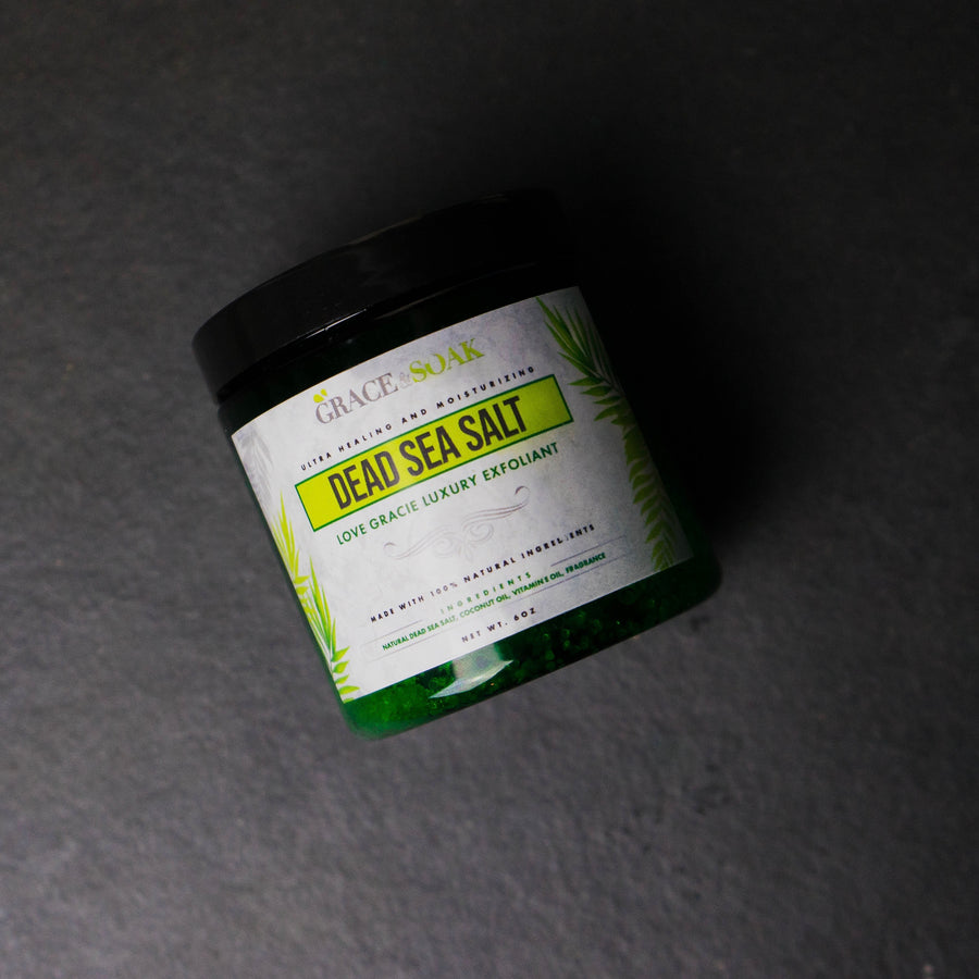 Dead Sea Salt Oatmeal Scrub