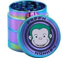 Green Monkey Herb Grinder Colorful Small 40mm - GRINDERS