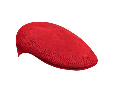 Red kangol knitted cap