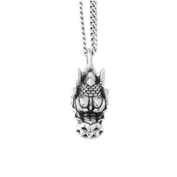 Dragon's Head Pendant Necklace