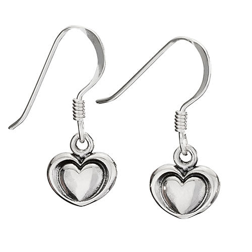 Heart in Heart Earrings
