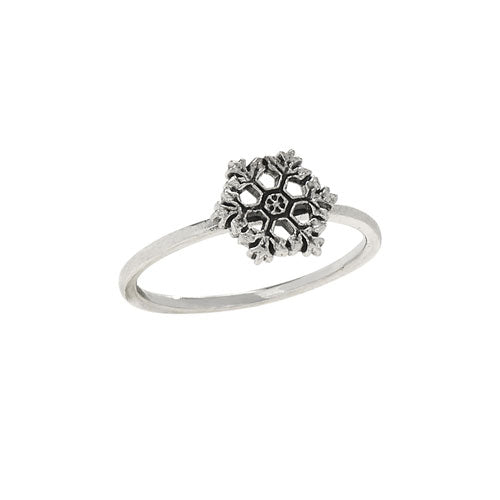 Snowflake Stacker Ring