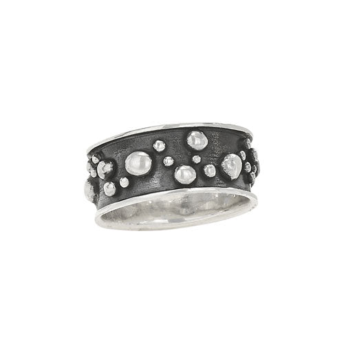 Bubbles Band Ring