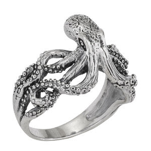 Crawling Octopus Ring