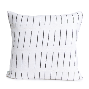 Kirby | Columns and Lines | Mud Cloth Pillow Cover