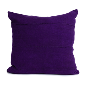 Tracy | Purple | Mud Cloth Pillow Cover