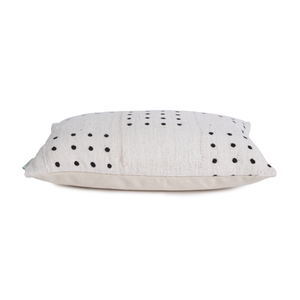 Trey | Black Dots | Mud Cloth Pillow Cover