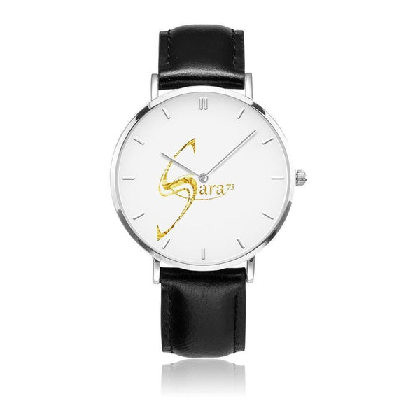 Montre à quartz (argent avec indicateurs)