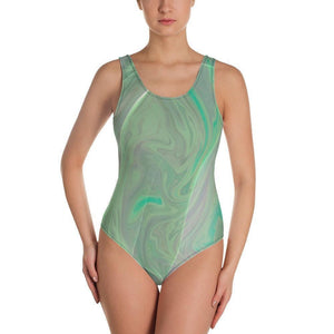 All-Over Print One-Piece Swimsuit - new-look-paris