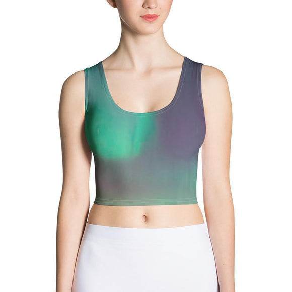 All-Over Print Crop Top - new-look-paris