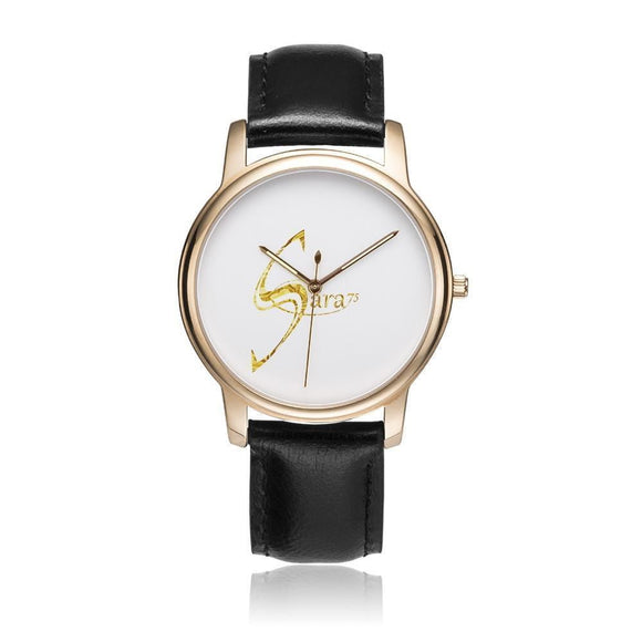 Grande montre avec bracelet cuir - new-look-paris