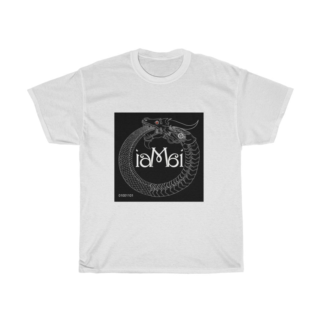 "Unisex Heavy Cotton Tee ""I AM AI"""