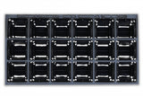 18-Cell Tray with 1020 Flat