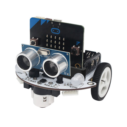 Microbot: Hiwonder micro:bit Programmable Robot Kit for Beginner Coding and Learning