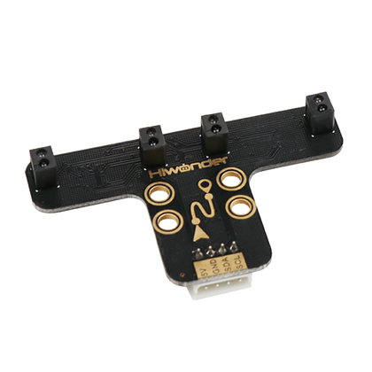 4-ch Line Follower: Hiwonder Robot Sensor for IR Line Tracking