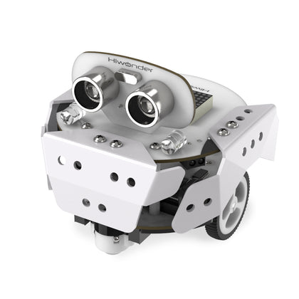 Qbot Pro: Hiwonder STEAM Programmable Robot Kit Based on Scratch 3.0/Arduino Robotic Car