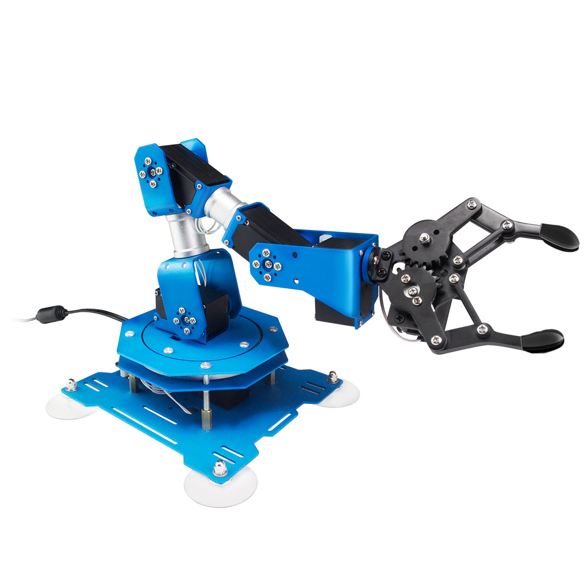 xArm: Hiwonder 6DOF Bus Servo Robotic Arm based on Scratch/Arduino Programmable Robotic Arm