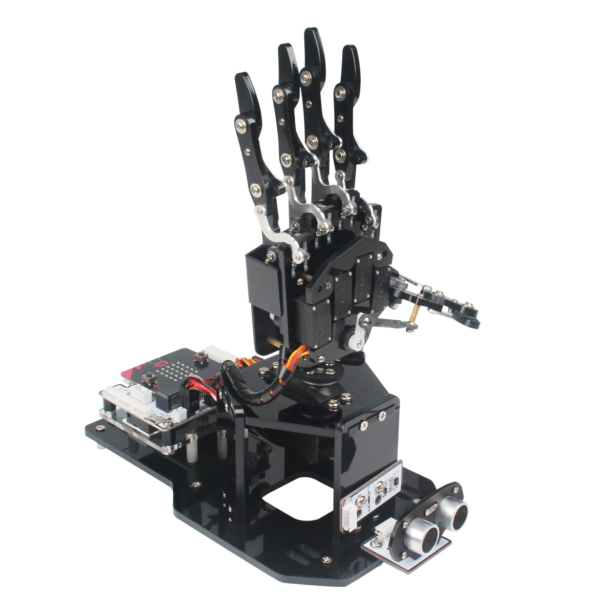 uHandbit: Hiwonder micro:bit Programmable Robotic Hand for AI Learning