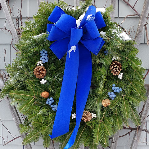 Maine Blueberry Wreath