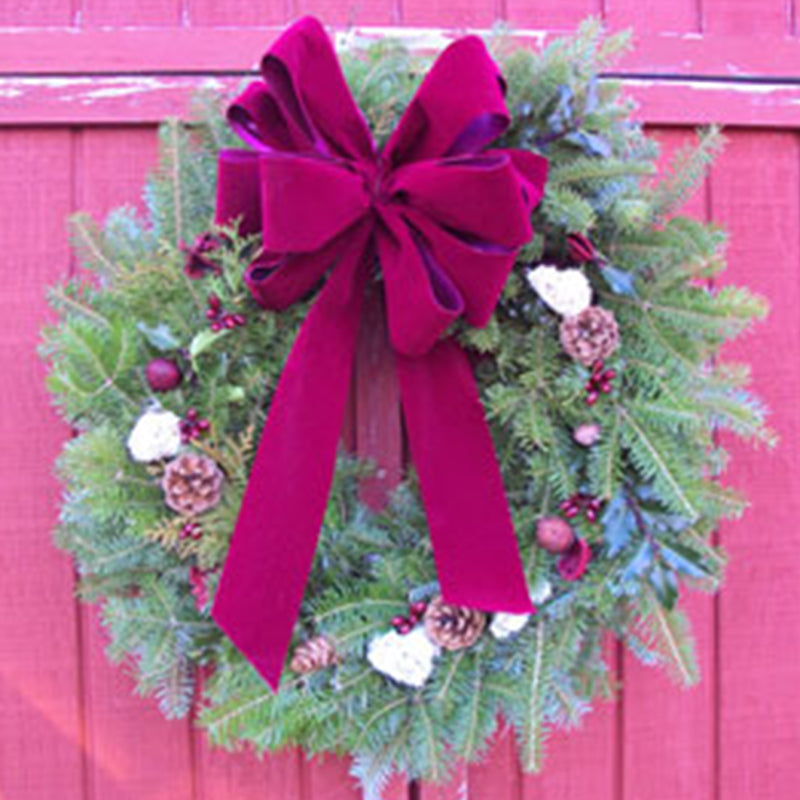 Victorian Maine Christmas Wreath