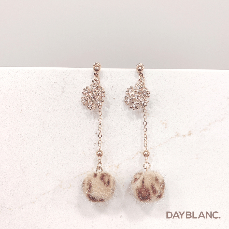 Winter Leopard (Earring) - DAYBLANC